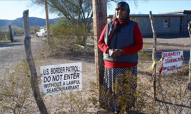 Tribe Uneasy About Border Surveillance Plans on Their Land