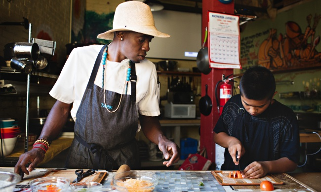 Meet the Chef Teaching Kids How to Cook Healthy Meals on a Budget