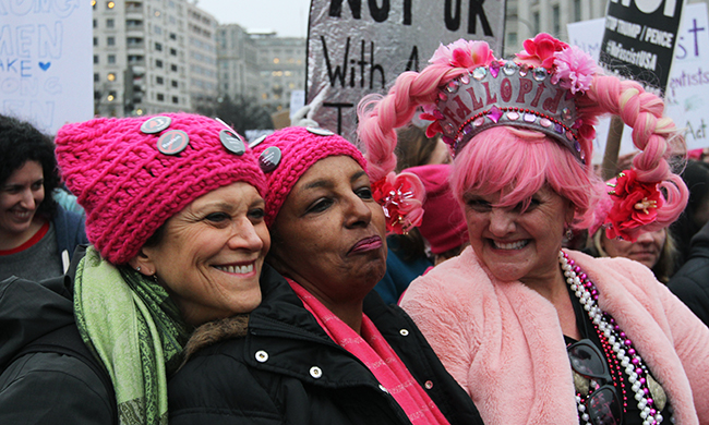 Solidarity—Plus 10 Other Reasons Women Showed Up to March