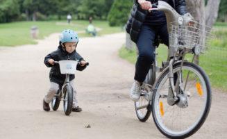 Petit velib' rider