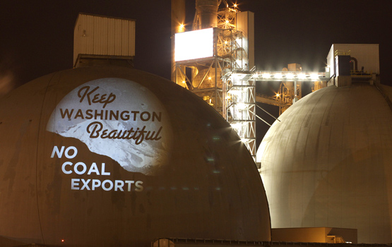 Keep Washington Beautiful - No Coal Exports