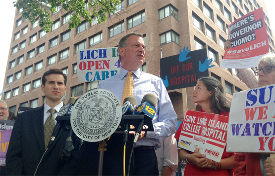 Bill de Blasio: A Mayor for the New Economy