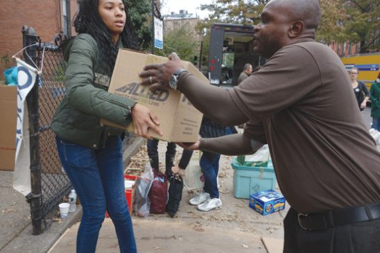 Occupy Sandy photo by Brennan Cavanaugh