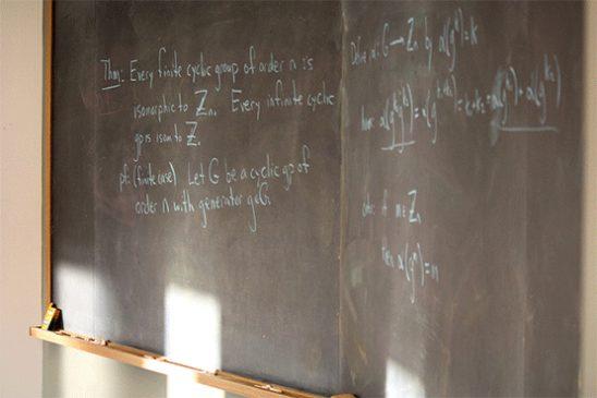 Chalkboard photo by Derek Bruff