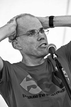 Bill McKibben photo by David Garten
