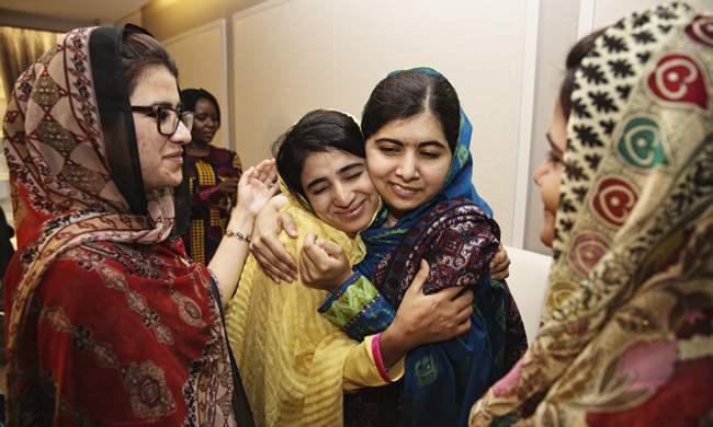 Standing With Malala: Meet the Teenagers Who Survived the Taliban and Kept Going to School