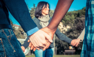 Holding Hands photo from Shutterstock