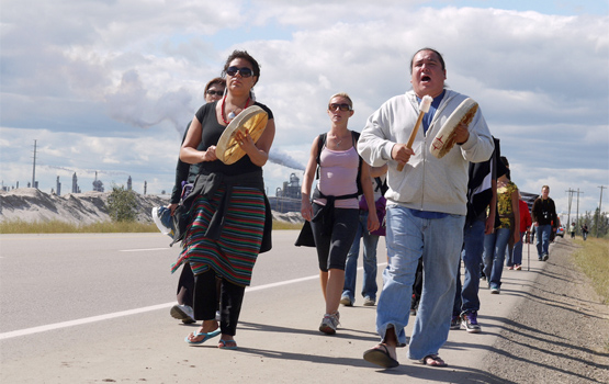 Walk to Heal the Tar Sands
