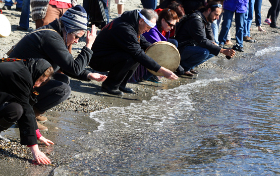 Idle No More Water Ceremony
