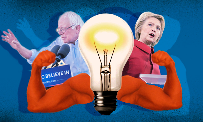I'm Sticking With Sanders—And Voting for Clinton