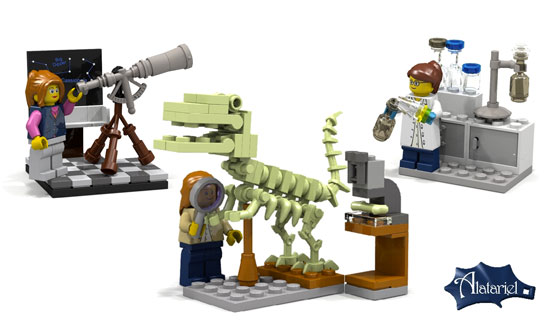 Fans Pick Women Scientists Over Marty McFly for New LEGO Set